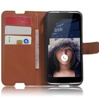 Чехол портмоне подставка с защелкой для Alcatel Idol 4/BlackBerry DTEK50