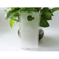 Силиконовый матовый полупрозрачный чехол для Alcatel Idol 4S/Blackberry DTEK60 Белый
