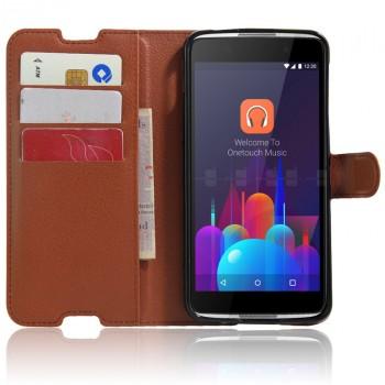 Чехол портмоне подставка с защелкой для Alcatel Idol 4S/Blackberry DTEK60