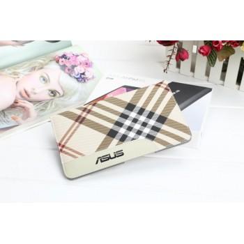 Чехол подставка с рамочной защитой экрана, отделением для карты и полноповерхностным принтом для ASUS ZenPad 8