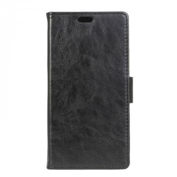 Вощеный чехол портмоне подставка с защелкой для Alcatel One Touch Pixi 4 (3.5)