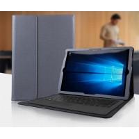 Чехол папка подставка текстура Точки с рамочной защитой экрана для Microsoft Surface Pro 4