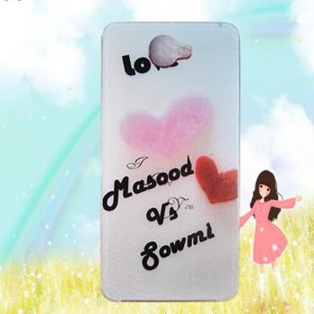 Силиконовый дизайнерский чехол с принтом для LG K5