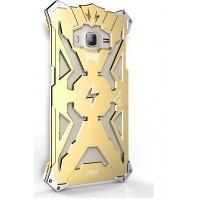 Металлический винтовой чехол повышенной защиты для Samsung Galaxy J3 (2016)