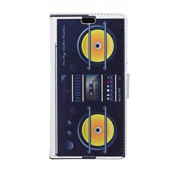 Дизайнерский чехол флип подставка с застежкой и полноповерхностным принтом для Asus Zenfone 2