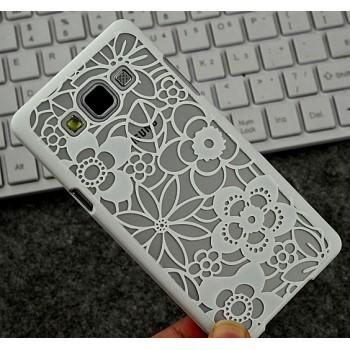 Пластиковый матовый дизайнерский чехол текстура Узоры для Samsung Galaxy A5
