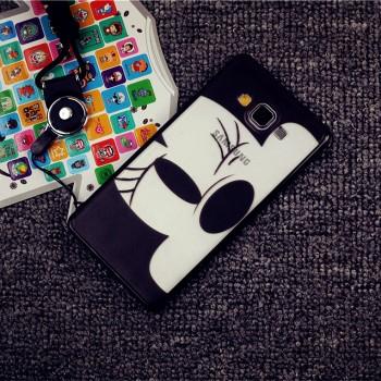 Силиконовый дизайнерский фигурный чехол Микки для Samsung Galaxy A5