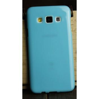 Глянцевый силиконовый непрозрачный чехол для Samsung Galaxy A3
