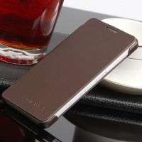 Чехол флип на пластиковой основе для Samsung Galaxy A3 Коричневый