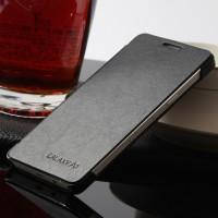Чехол флип на пластиковой основе для Samsung Galaxy A3 Черный