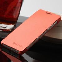 Чехол флип на пластиковой основе для Samsung Galaxy A3 Оранжевый