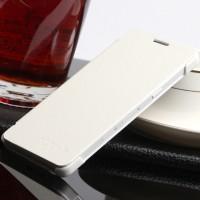 Чехол флип на пластиковой основе для Samsung Galaxy A3 Белый