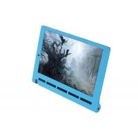 Силиконовый матовый непрозрачный текстурный чехол для Lenovo Yoga Tab 3 10 Голубой
