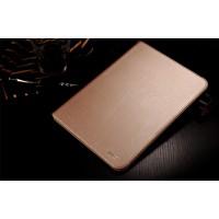 Кожаный чехол подставка с рамочной защитой экрана для Ipad Pro 9.7 Бежевый