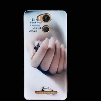 Силиконовый матовый дизайнерский чехол с эксклюзивной серией принтов для Ulefone Power