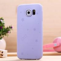 Силиконовый матовый непрозрачный чехол текстура Узоры для Samsung Galaxy S6