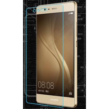 Ультратонкое износоустойчивое сколостойкое олеофобное защитное стекло-пленка для Huawei P9 Plus