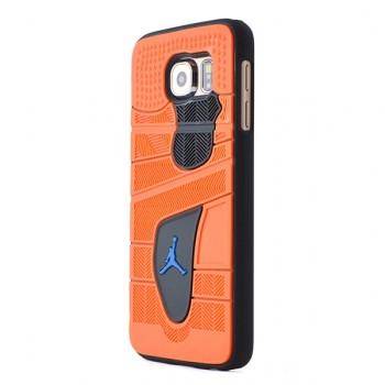 Двухкомпонентный дизайнерский фигурный чехол силикон/поликарбонат для Samsung Galaxy S6