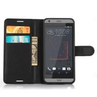 Чехол портмоне подставка с защелкой для HTC Desire 530/630 Черный