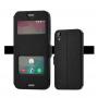 Чехол флип подставка на силиконовой основе с окном вызова и свайпом для HTC Desire 530/630
