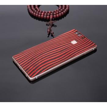 Экстратонкая клеевая натуральная деревянная накладка для Huawei P9