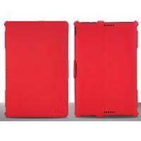 Чехол подставка текстурный серия Color Jeans для ASUS Transformer Book T100ta Красный