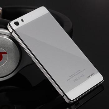 Двухкомпонентный чехол c металлическим бампером с поликарбонатной накладкой и зеркальным покрытием для Huawei Honor 4C