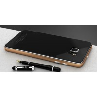 Двухкомпонентный чехол c металлическим бампером и стеклянной крышкой для Samsung Galaxy S7 Edge