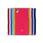 Силиконовый глянцевый чехол для Sony Xperia Z1