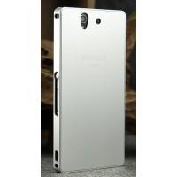 Металлический сверхлегкий чехол для Sony Xperia Z Белый