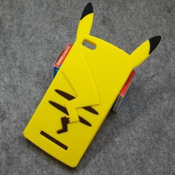 Силиконовый матовый непрозрачный дизайнерский фигурный чехол для Xiaomi Mi4i