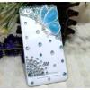 Пластиковый полупрозрачный чехол с аппликацией ручной работы для Xiaomi Mi4i