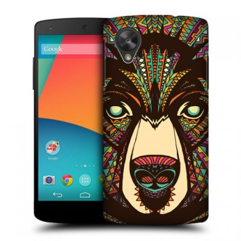 Пластиковый чехол с принтом Animals для Nexus 5