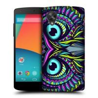 Пластиковый чехол с принтом Animals для Nexus 5 Глаза Сова