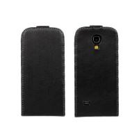 Чехол книжка вертикальная для Samsung Galaxy S4 Mini Черный