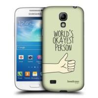 Пластиковый чехол с принтом для Samsung Galaxy S4 Mini Рука