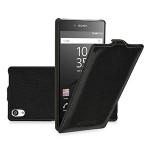 Кожаный чехол вертикальная книжка для Sony Xperia Z5 Premium