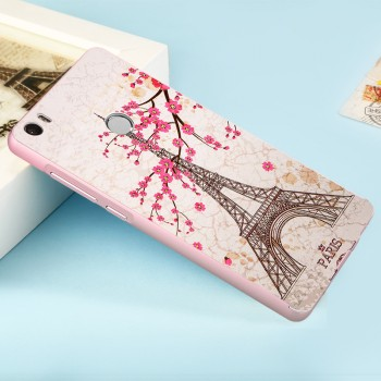 Двухкомпонентный чехол c металлическим бампером с поликарбонатной накладкой и УФ-принтом для Xiaomi Mi Max