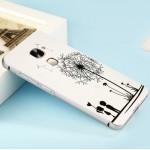 Двухкомпонентный чехол c металлическим бампером с поликарбонатной накладкой и УФ-принтом для LeEco Le Max 2