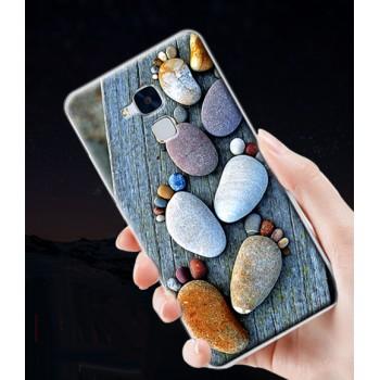 Пластиковый матовый непрозрачный чехол с принтом для Huawei Honor 5C