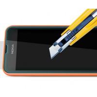Ультратонкое износоустойчивое сколостойкое олеофобное защитное стекло-пленка для Nokia Lumia 530