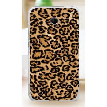 Пластиковый чехол с принтом для Nokia Lumia 630 леопард