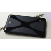 Силиконовый чехол X для Samsung Galaxy Tab 4 7.0 Черный