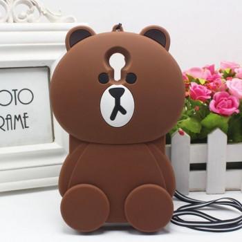 Силиконовый матовый непрозрачный дизайнерский фигурный чехол для Meizu M3 Note