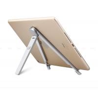Универсальный экстралегкий 260 гр алюминиевый мольберт-подставка для планшетов 7-13 дюймов для Lenovo Moto G4 (Plus)