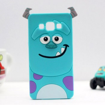 Силиконовый матовый непрозрачный дизайнерский фигурный чехол для Samsung Galaxy J5 (2016)