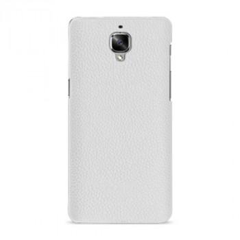 Кожаный чехол накладка (премиум нат. кожа) для OnePlus 3