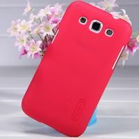 Премиум пластиковый матовый чехол для Samsung Galaxy Win Красный