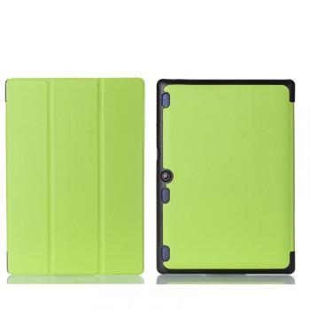 Чехол книжка подставка на непрозрачной поликарбонатной основе для Lenovo Tab 2 A10