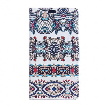 Чехол портмоне подставка на силиконовой основе с полноповерхностным принтом на магнитной защелке для LG X Style